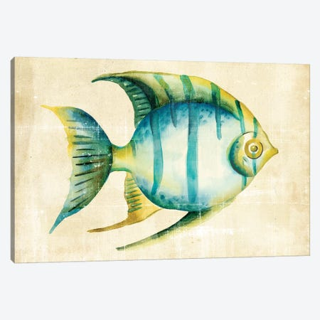 Aquarium Fish I Canvas Print #ZAR12} by Chariklia Zarris Canvas Artwork