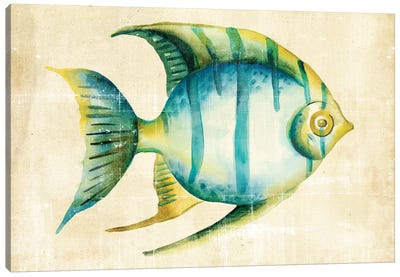 Aquarium Fish I Canvas Art Print