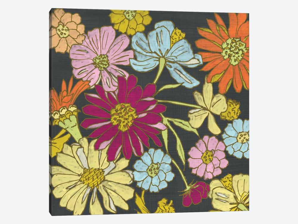 Summer Floral On Grey I by Chariklia Zarris 1-piece Art Print