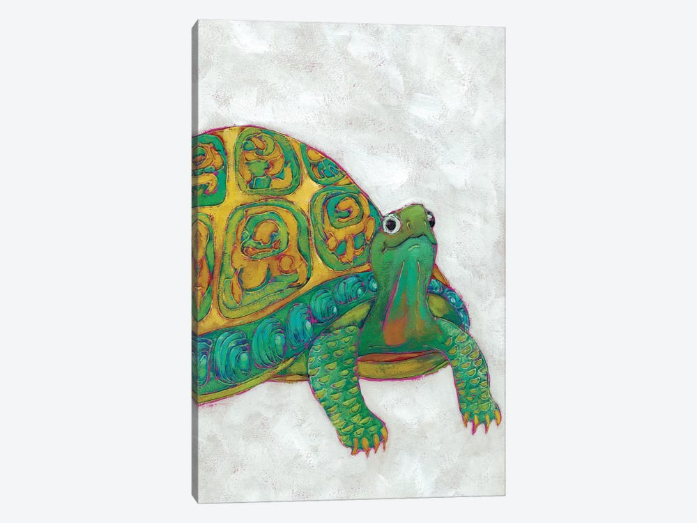 Turtle Friends I by Chariklia Zarris 1-piece Canvas Art Print