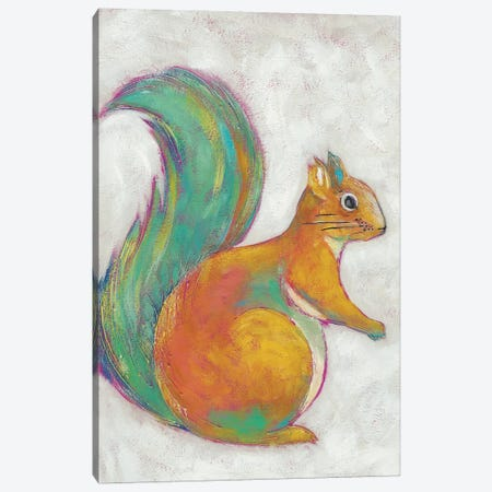 Woodland Friends I Canvas Print #ZAR139} by Chariklia Zarris Canvas Wall Art
