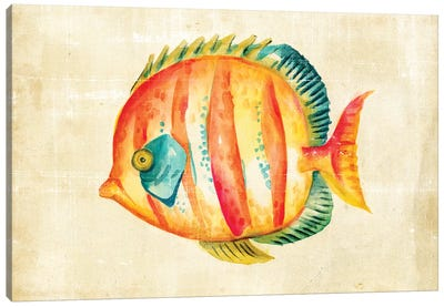 Aquarium Fish II Canvas Art Print