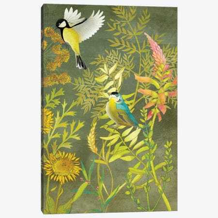 Birding I Canvas Print #ZAR146} by Chariklia Zarris Canvas Wall Art