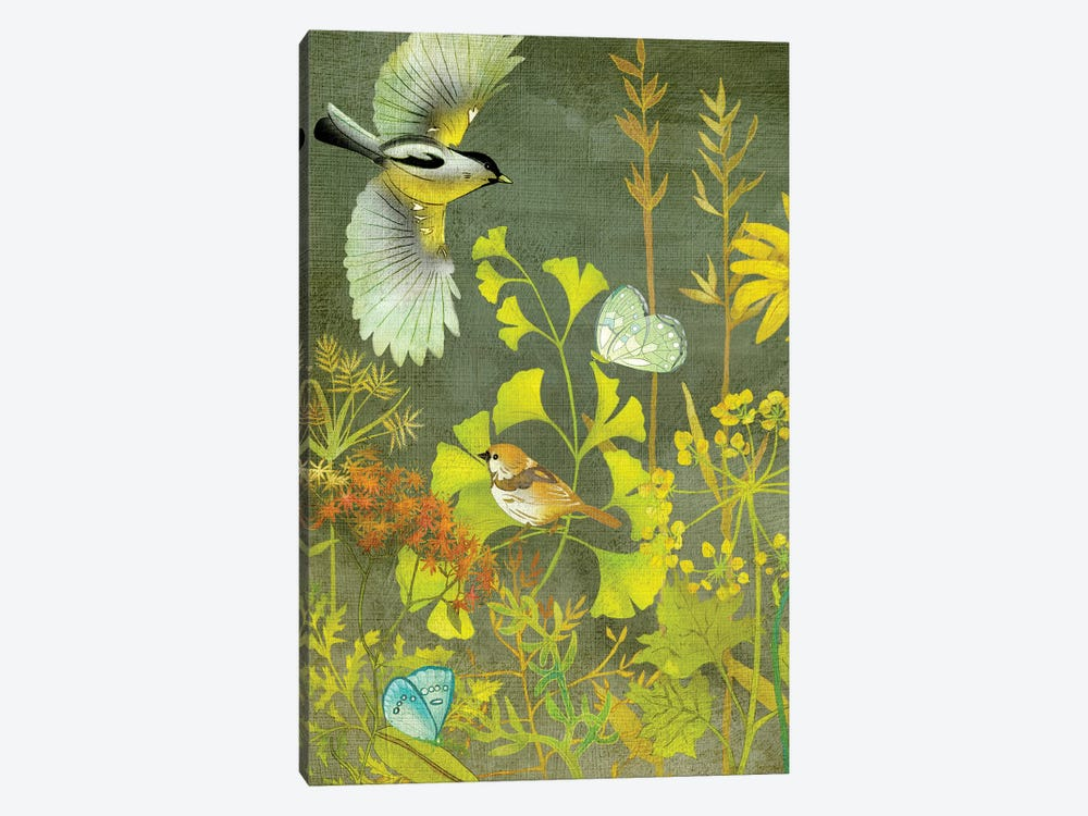 Birding II by Chariklia Zarris 1-piece Canvas Wall Art
