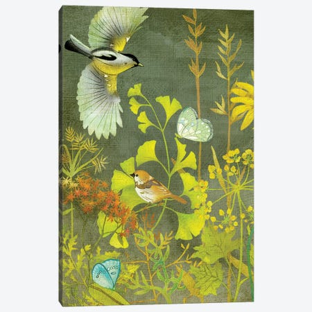 Birding II Canvas Print #ZAR147} by Chariklia Zarris Canvas Wall Art