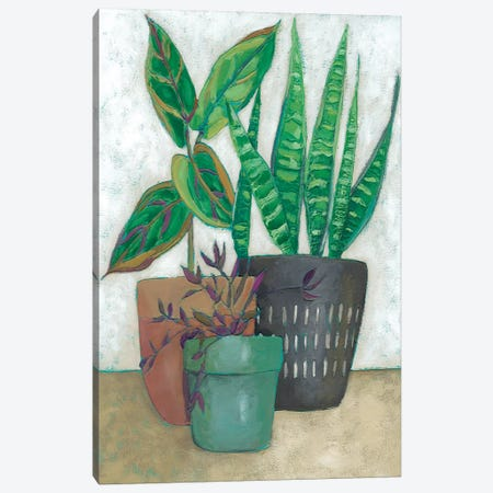 House Garden I Canvas Print #ZAR152} by Chariklia Zarris Canvas Wall Art