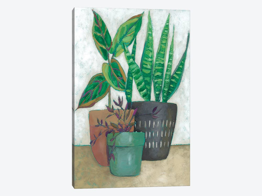 House Garden I by Chariklia Zarris 1-piece Canvas Artwork