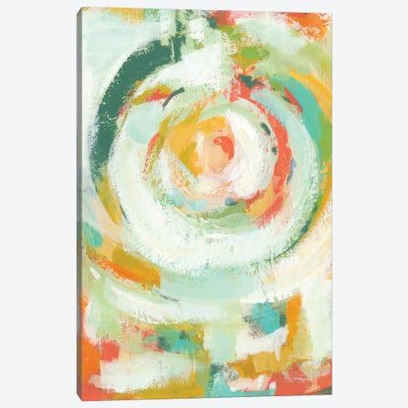 Pop Blossom I Canvas Print #ZAR156} by Chariklia Zarris Canvas Art Print
