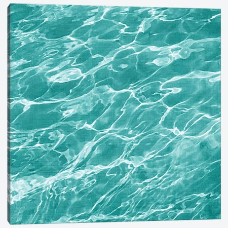 Ripple I Canvas Print #ZAR158} by Chariklia Zarris Canvas Wall Art