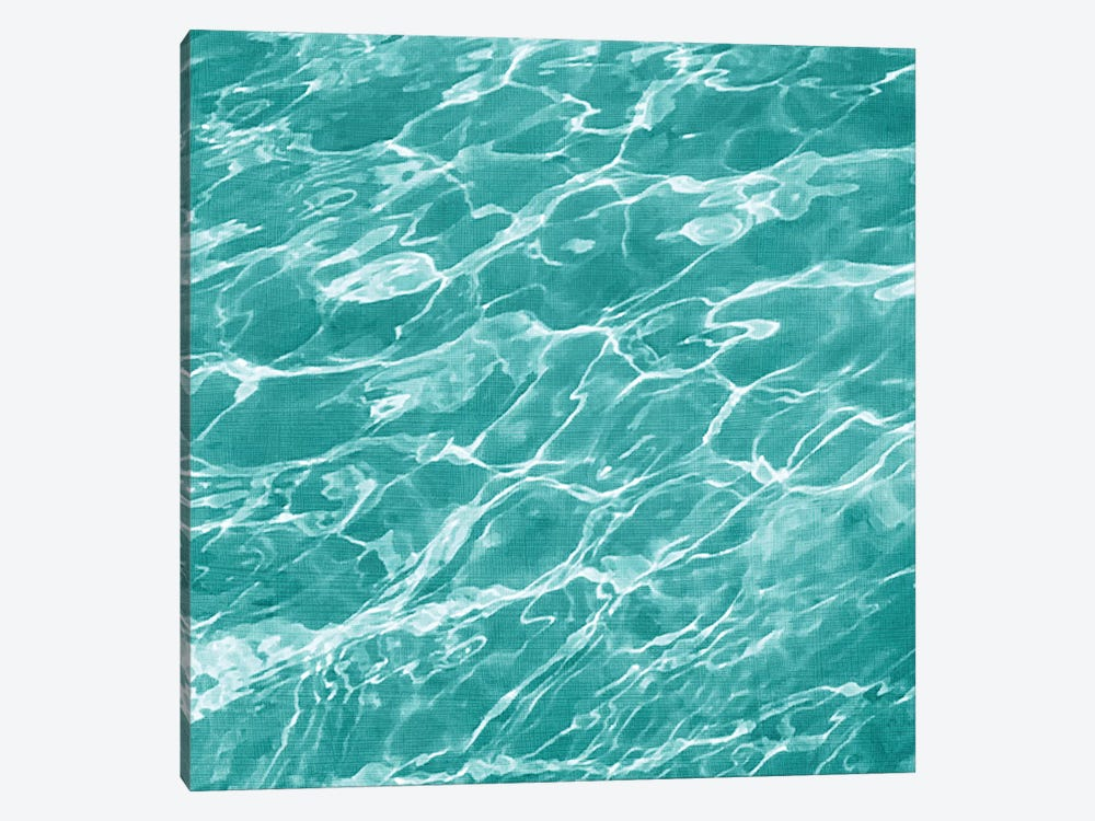 Ripple I by Chariklia Zarris 1-piece Canvas Artwork