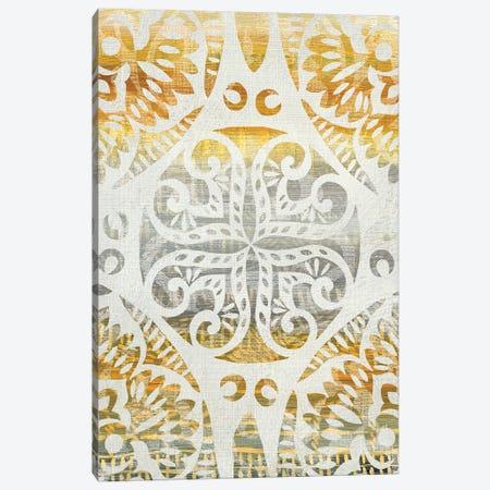 Tapestry Rosette I Canvas Print #ZAR160} by Chariklia Zarris Art Print