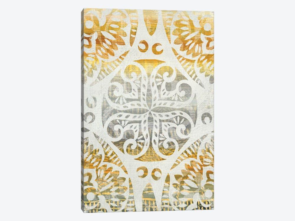 Tapestry Rosette I by Chariklia Zarris 1-piece Canvas Art Print