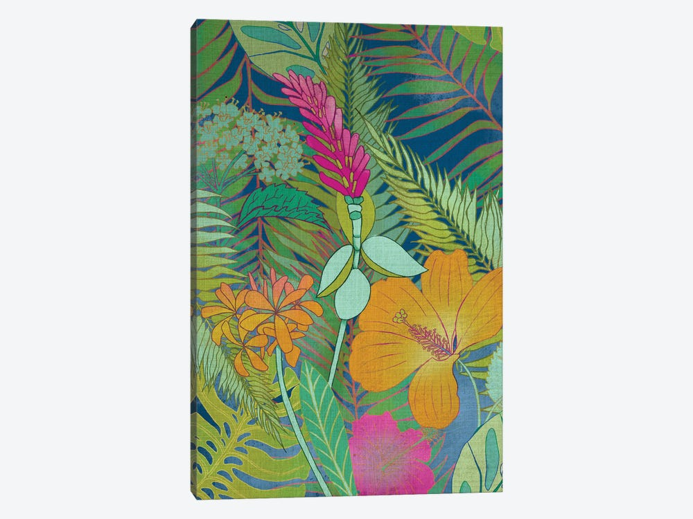 Tropical Tapestry II by Chariklia Zarris 1-piece Canvas Wall Art