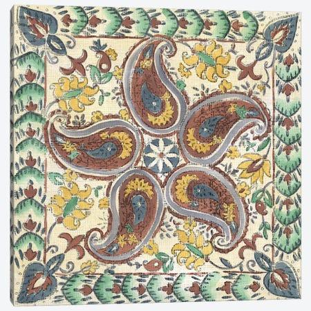 Batik Rosette III Canvas Print #ZAR174} by Chariklia Zarris Canvas Print