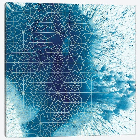 Crystalline II Canvas Print #ZAR17} by Chariklia Zarris Canvas Print