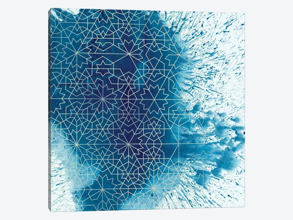 Crystalline II by Chariklia Zarris 1-piece Canvas Artwork