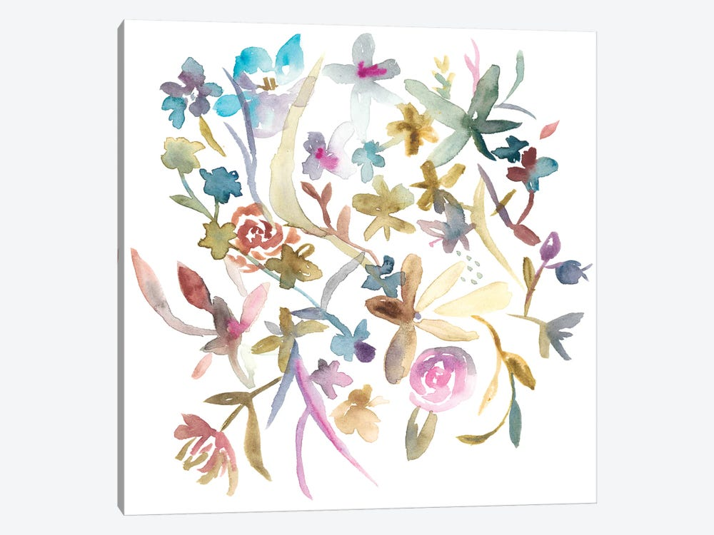 Concord Florals I by Chariklia Zarris 1-piece Canvas Art Print