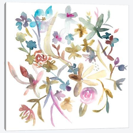 Concord Florals I Canvas Print #ZAR180} by Chariklia Zarris Art Print