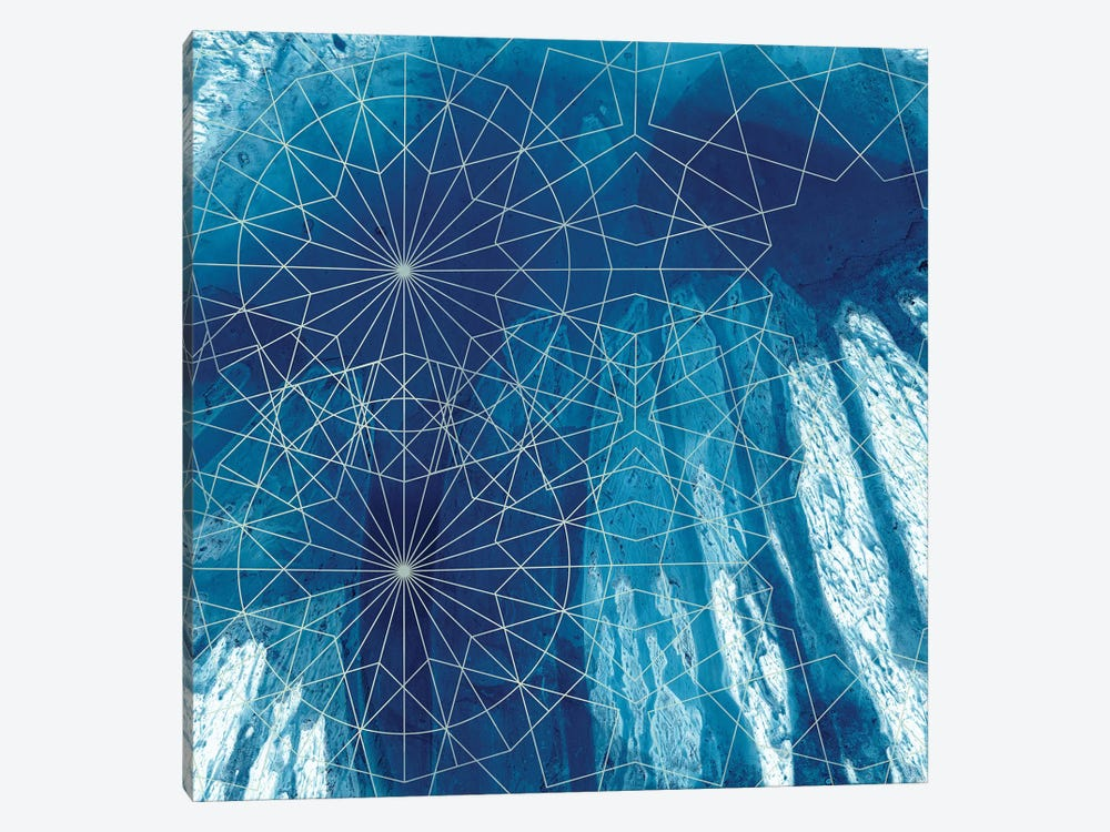Crystalline III by Chariklia Zarris 1-piece Canvas Print