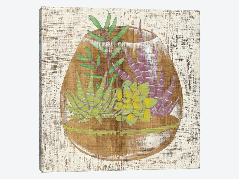 Glass Garden II by Chariklia Zarris 1-piece Canvas Art Print