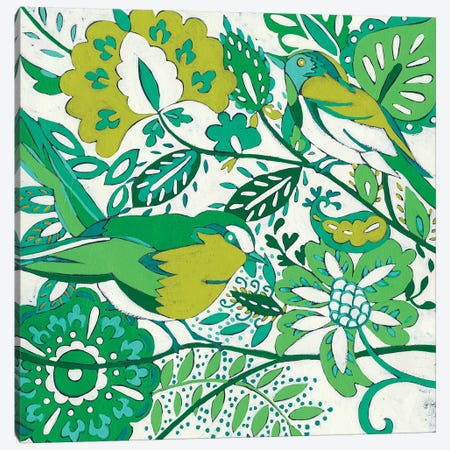 Lovebirds I Canvas Print #ZAR209} by Chariklia Zarris Canvas Wall Art