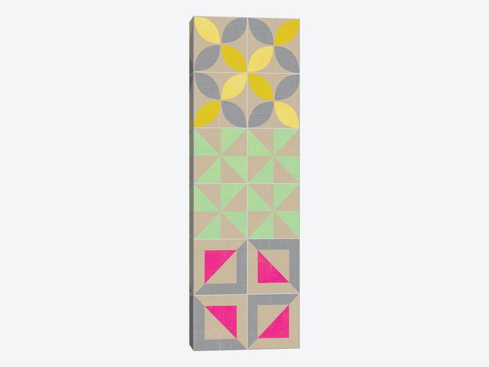 Elementary Tile Panel I by Chariklia Zarris 1-piece Canvas Wall Art