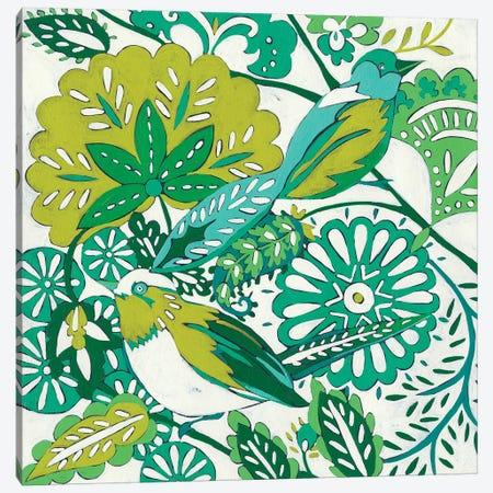 Lovebirds II Canvas Print #ZAR210} by Chariklia Zarris Canvas Art Print