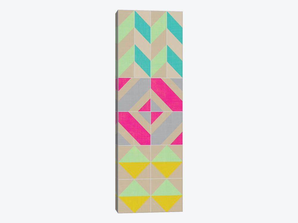 Elementary Tile Panel II by Chariklia Zarris 1-piece Art Print