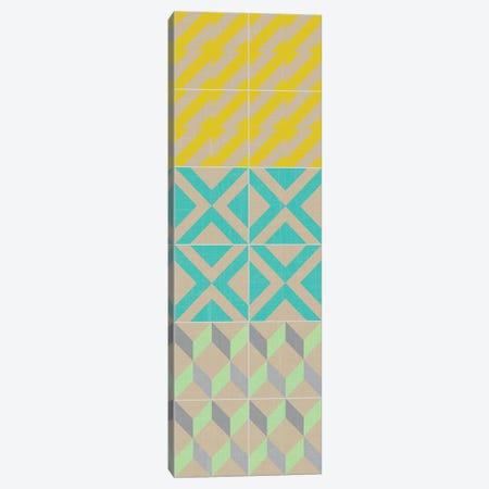 Elementary Tile Panel III Canvas Print #ZAR22} by Chariklia Zarris Canvas Print