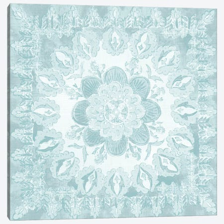 Spa Batik Rosette I Canvas Print #ZAR240} by Chariklia Zarris Canvas Wall Art