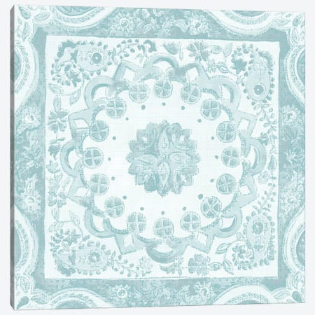 Spa Batik Rosette II Canvas Print #ZAR241} by Chariklia Zarris Canvas Art
