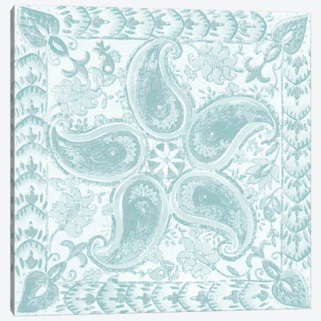 Spa Batik Rosette III Canvas Print #ZAR242} by Chariklia Zarris Canvas Art