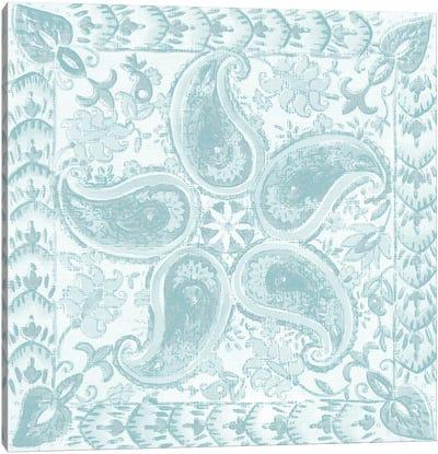 Spa Batik Rosette III Canvas Art Print