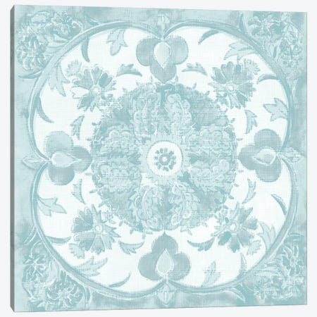 Spa Batik Rosette IV Canvas Print #ZAR243} by Chariklia Zarris Canvas Artwork