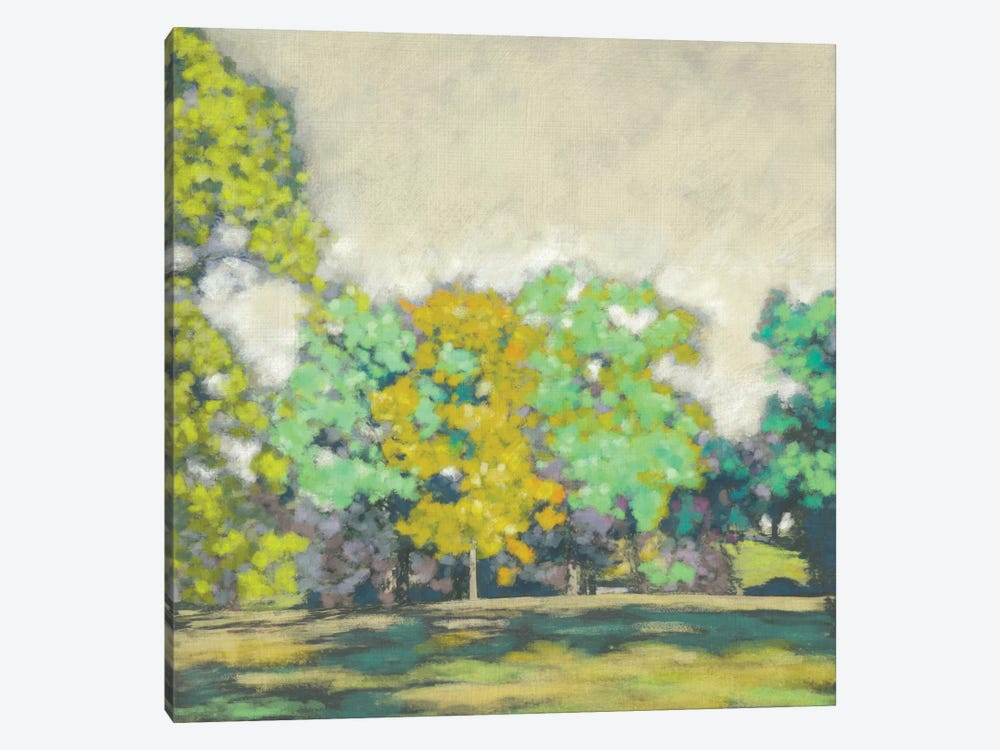 Treeline II by Chariklia Zarris 1-piece Canvas Art Print