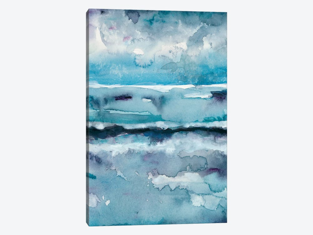 Blue Tide II by Chariklia Zarris 1-piece Canvas Artwork