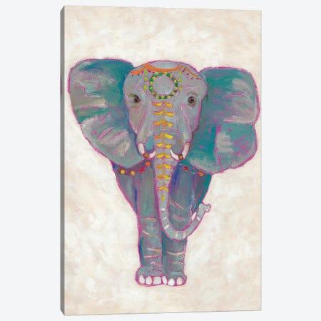 Festival Elephant I Canvas Print #ZAR27} by Chariklia Zarris Canvas Artwork