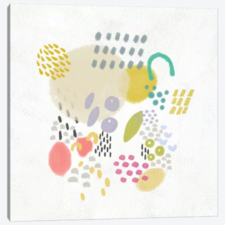 Funfetti I Canvas Print #ZAR283} by Chariklia Zarris Canvas Art