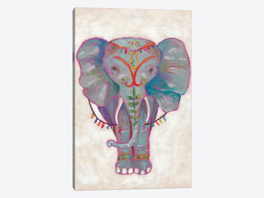 Festival Elephant II by Chariklia Zarris 1-piece Canvas Artwork