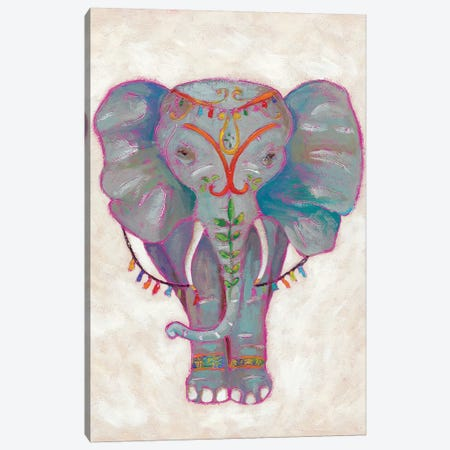 Festival Elephant II Canvas Print #ZAR28} by Chariklia Zarris Art Print