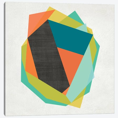 Integer II 3-Piece Canvas #ZAR290} by Chariklia Zarris Art Print