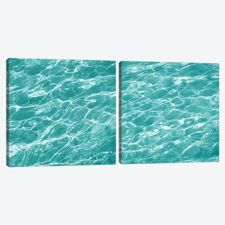 Ripple Diptych Canvas Print Set #ZAR2HSET002} by Chariklia Zarris Art Print