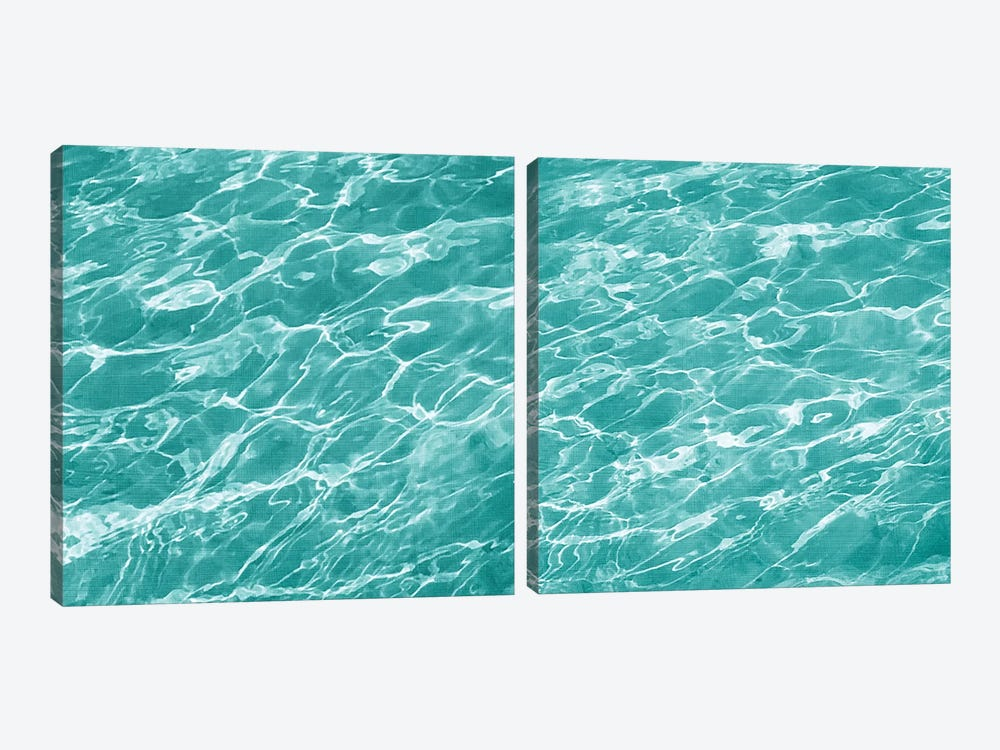 Ripple Diptych by Chariklia Zarris 2-piece Canvas Art Print