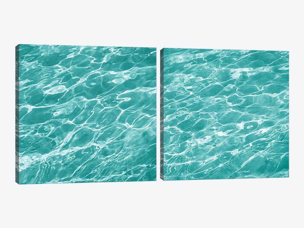 Ripple Diptych by Chariklia Zarris 2-piece Canvas Art Print