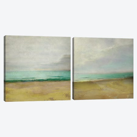 Waterline Diptych Canvas Print Set #ZAR2HSET005} by Chariklia Zarris Canvas Artwork