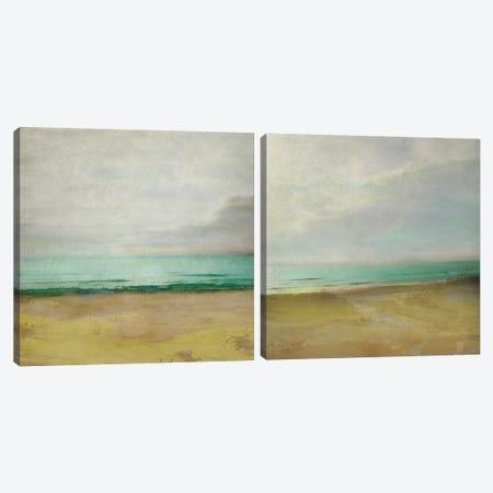 Waterline Diptych Canvas Print Set #ZAR2HSET005} by Chariklia Zarris Canvas Artwork
