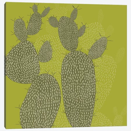 Opuntia I Canvas Print #ZAR307} by Chariklia Zarris Canvas Art