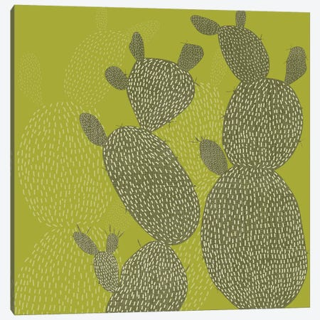 Opuntia II Canvas Print #ZAR308} by Chariklia Zarris Canvas Art Print