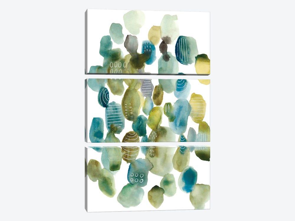 Skip Hop II by Chariklia Zarris 3-piece Canvas Art Print