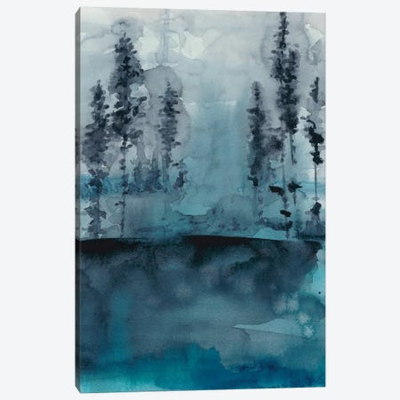 Winter Woods I Canvas Print #ZAR348} by Chariklia Zarris Art Print
